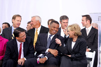 NASCAR Hall of Fame - Pat McCrory, Anthony Foxx, Beverly Perdue