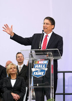 NASCAR Hall of Fame - Pat McCrory