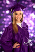 High School Cap and Gown